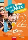 Deutsch mit Max neu + interaktiv 2 - hybridní pracovní sešit 3v1 (barevný)