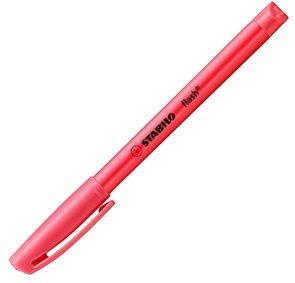 STABILO flash zvýrazňovač - červený