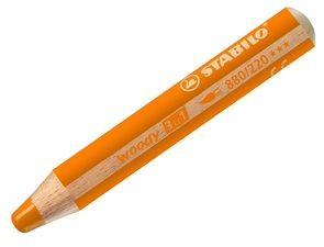 STABILO Woody 3 in 1 - oranžová