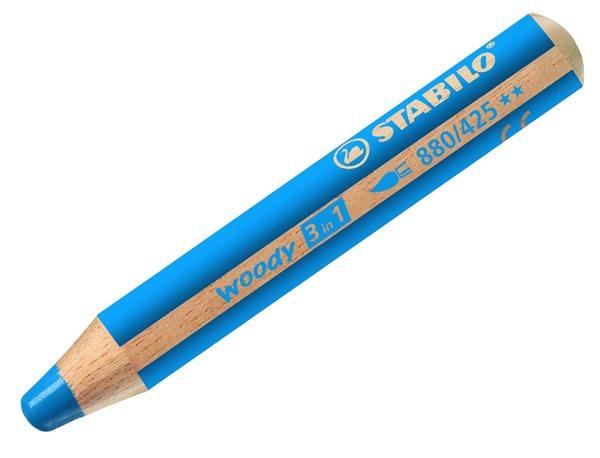 STABILO Woody 3 in 1 - modrá