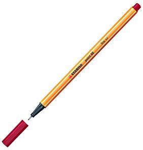 STABILO point 88 Jemný liner - tmavě červená