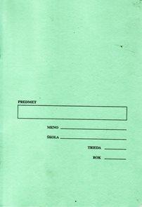 Sešit 546, A5 40 l. STENO, linkovaný pro těsnopis