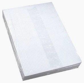 Psací papír dvoulist A4 - čtverečkovaný