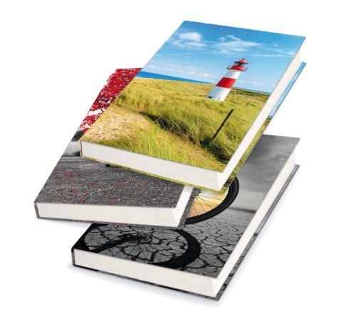 Záznamová kniha A4 100 listů nelinkovaná - mix motivů