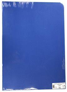 Kreslicí karton barevný A2 125 g - 20 ks - tm. modrá