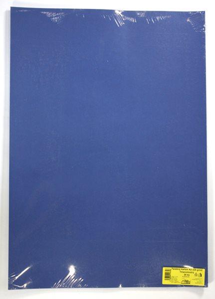 Barevné výkresy A2 225 g - 20 ks - tm. modrá