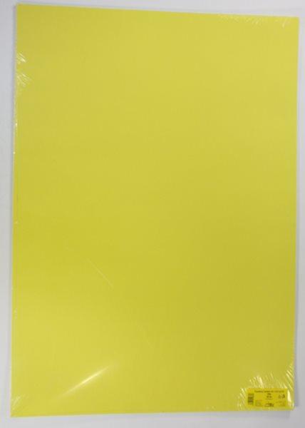 Barevné výkresy A1 225 g - 20 ks - žlutá