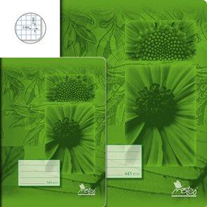 Sešit Economy 445, A4 40 l. čtverečkovaný 5 × 5 mm