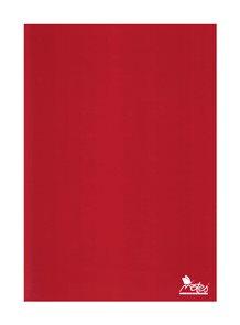 Záznamová kniha A5 100 listů linkovaná - červená