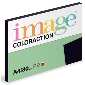 Coloraction A4 80g 100ks - Black/sytá černá