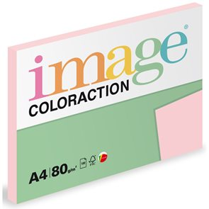 Coloraction A4 80 g 100 ks - Tropic/pastelově růžová