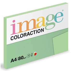 Coloraction A4 80 g - Pastelově světle zelená 100 ks