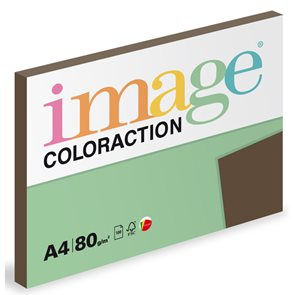Coloraction A4 80g 100ks - Brown/sytá hnědá