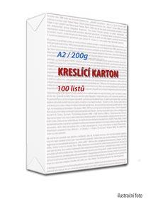 Kreslicí karton A2 200 g  - 100 ks