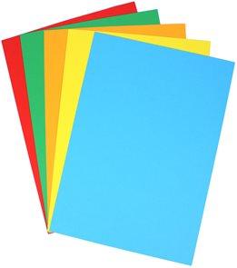 Coloraction A4 160 g mix intenzivní 5×20 ks (žlutá, oranžová, červená, modrá, zelená)