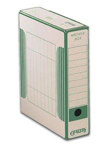 EMBA Archivační box - vnitřní 33×26×7,5 cm - zelený