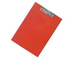 CAESAR OFFICE Podložka psací s klipem A4 RainbowLine Prešpán - červená