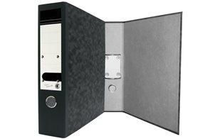 CAESAR OFFICE EXECUTIVE Pořadač závěsný A4 7,5 cm - mramor černý