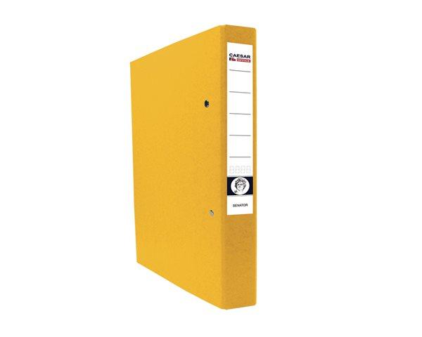 CAESAR OFFICE SENATOR Pořadač 2-kroužkový A4 4cm - žlutý