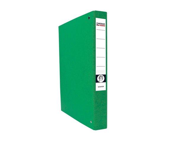 CAESAR OFFICE SENATOR Pořadač 4-kroužkový A4 4cm - zelený