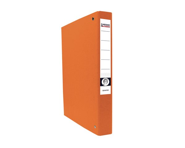 CAESAR OFFICE SENATOR Pořadač 4-kroužkový A4 4cm - oranžový