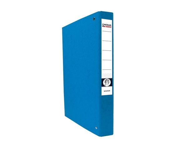 CAESAR OFFICE SENATOR Pořadač 4-kroužkový A4 4cm - modrý