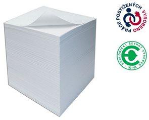 CAESAR OFFICE Špalíček lepený 90x90x45 - bílá