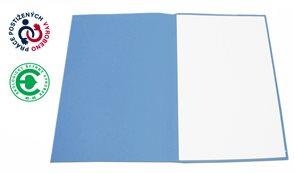 CAESAR OFFICE Odkládací mapa A4 bezklopá - modrá