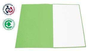 CAESAR OFFICE Odkládací mapa A4 bezklopá - zelená