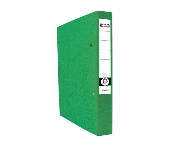 CAESAR OFFICE SENATOR Pořadač 2-kroužkový A4 4cm - zelený