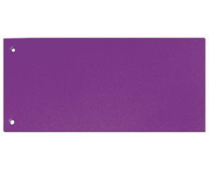 CAESAR OFFICE Rozdružovač Brilliant 10,5 × 24 cm - fialový