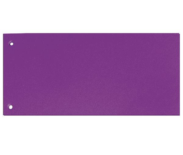 CAESAR OFFICE Rozdružovač Brilliant 10,5x24 cm - fialový