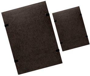 CAESAR OFFICE Spisové desky s tkanicí A3 prešpán - černé
