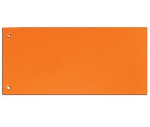 CAESAR OFFICE Rozdružovač Brilliant 10,5 × 24 cm - oranžový