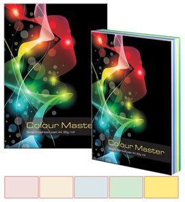 Colour Master - barevný papír A4 80g 5x20 barev - mix pastelových barev