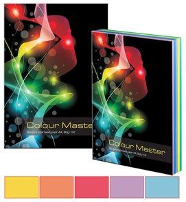 Colour Master Barevný papír A4 80g 5x100 barev - mix intenzivních  barev