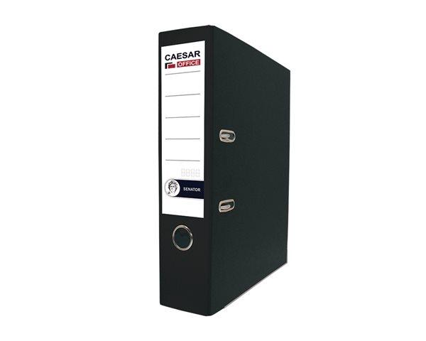 CAESAR OFFICE SENATOR pořadač pákový A4 7,5cm - černý