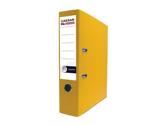 CAESAR OFFICE SENATOR pořadač pákový A4 7,5cm - žlutý