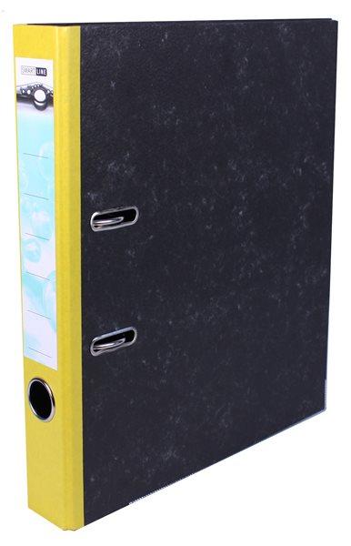 Pořadač pákový 5cm papír - žlutý