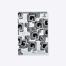 Bobo Blok Black&White s horní spirálou A4 50 listů - linka