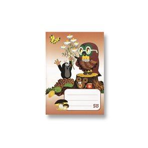 Bobo Sešit 513 - linka 10 listů - KRTEK