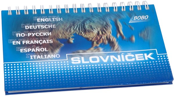 Bobo Slovníček kroužkový blok 10x16cm 50 listů