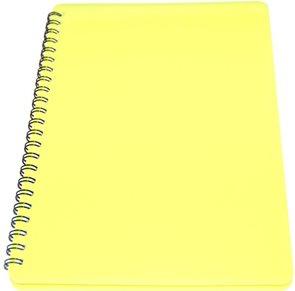 BOBO Plastic blok Neon A6 linka 60 listů - žlutý