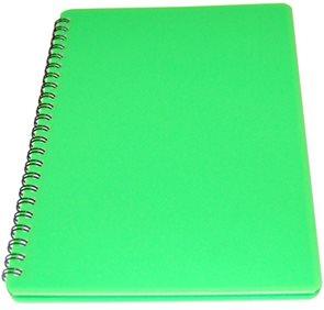 Bobo Plastic blok Neon A6 linka 60 listů - zelený