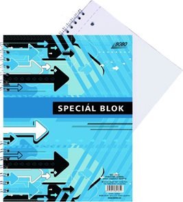 Blok Speciál COLOR A5 - čistý