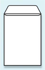 Poštovní taška B5 176 x 250 mm bez okénka  - bílá