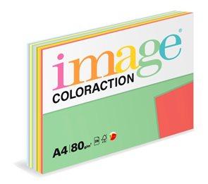 Coloraction A4 80g TOP MIX 10x25ks - mix 10 barev