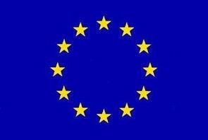 Vlajka EU - karabiny na zavěšení 100×150
