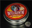 Inteligentní plastelína - metalická - zářivá stříbrná