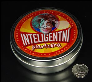 Inteligentní plastelína - teplocitlivá - Ametyst